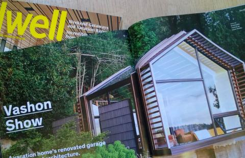 Vashon Garage featured in Dwell Magazine